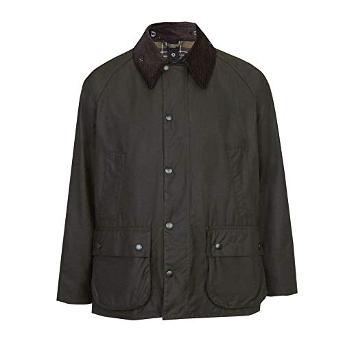 Barbour Classic Bedale Wax Jacket - Men's Olive, 38 from Barbour