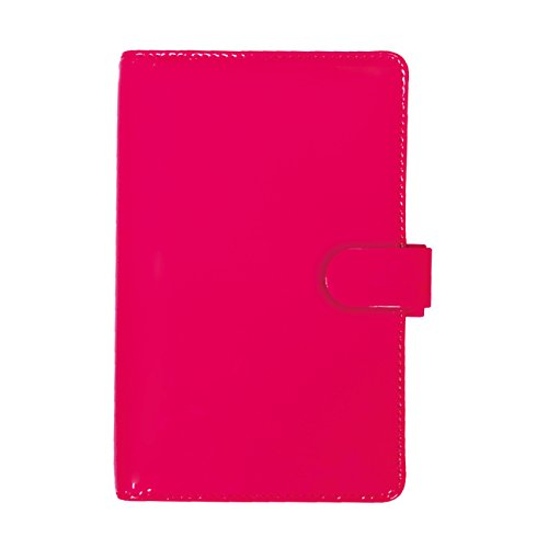 Pen Pink Filofax (Filofax 2018 Patent Organizer, Personal Compact (6.75 x 3.75), Fluro Pink, Planner with to do and Contacts Refills, Indexes and notepaper (C022543-18))