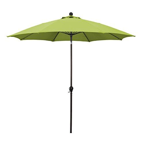 California Umbrella 9u0027 Round Aluminum P..