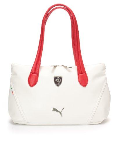 PUMA Ferrari LS Shoulder Hand Bag Boston Bag in White 07224003  Amazon.ca   Shoes   Handbags 65e1f2836832d