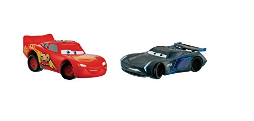 Disney's Cars 3 Birthday Party Cake Toppers Lightning Mcqueen Jackson Storm
