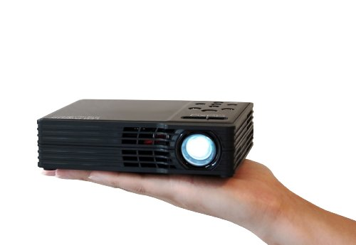 AAXA MP-300-02 LED Showtime 3D Pico/Micro Projector with LED, WXGA 1280x800 Resolution, USB Media Player and HDMI Projector