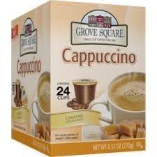 GROVE SQUARE CARAMEL CAPPUCCINO 96 CUPS [Hot Sale]