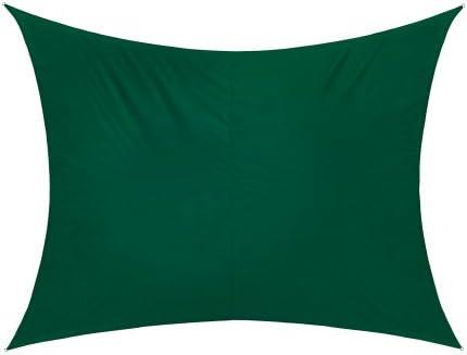 jarolift Toldo Vela Rectangular/Repelente al Agua / 400 x 300 cm/Verde: Amazon.es: Hogar
