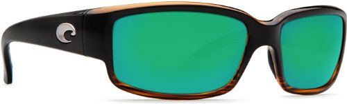 Costa Del Mar Sunglasses - Caballito- Glass / Frame: Coconut Fade Lens: Polarized Green Mirror 400 Glass by Costa Del Mar