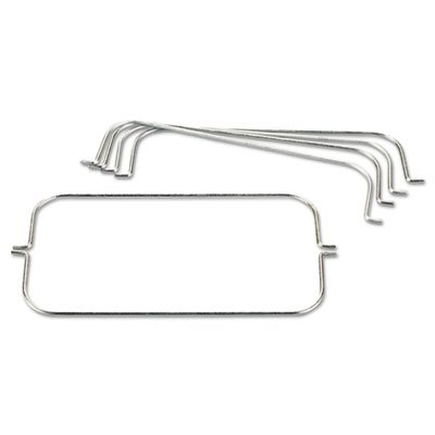 Tri-Wire Waste Bag Holder Kit, For Rubbermaid Commercial Cleaning Carts, Steel, Sold as 1 Each