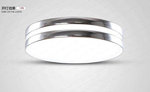 Plafoniere Per Balconi : Yuting semplice acrilico forma circolare lampada da soffitto led