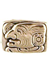 "Mayan Glyph Pendant ""Hoy"" symbolizing Blessings, Eternity"