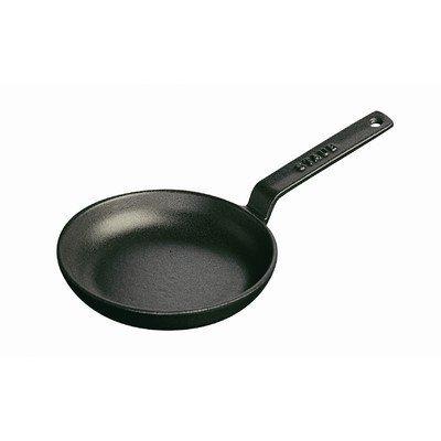 Staub Mini Frying Pan, Black Matte, 4.75