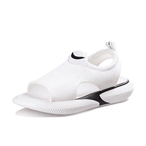 Plates Sauvages Femme Chaussures 6 Chaussons Sauvage Sandales Sport Coréen Sauvage Été 0 Nouveau de Taille qpvtpP