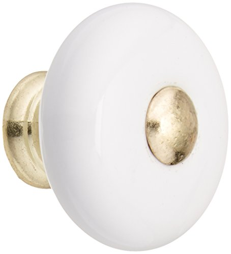 Brass Contemporary Round Knobs Cabinet - 5