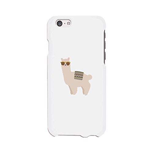 365 Printing Llamas Sunglasses-Right White Matching Cover For Apple iPhone - 365 Sunglasses
