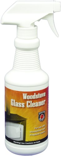 (MEECO'S RED DEVIL 701 Woodstove Glass Cleaner (16oz))