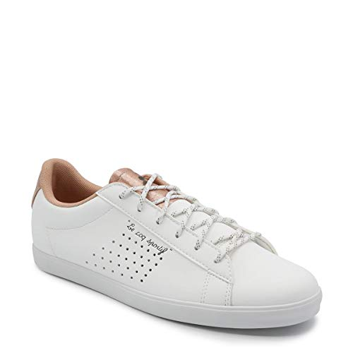 Le Sportif Optical Dusty Bianco Coq Coral Donna White Sneaker Agate Sport 5wIxwrqg