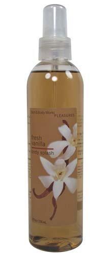 Bath & Body Works Fresh Vanilla Pleasures Collection Body Splash 8 fl oz (236 ml)