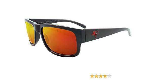 0672b524211 Fatheadz Eyewear Men s Modello V2.0 FH-V031-1RD Polarized Rectangular  Sunglasses