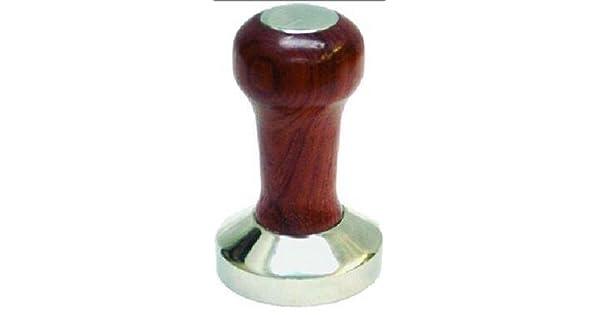 Amazon.com: Café espresso Tamper – 53 mm Rosewood/acero ...