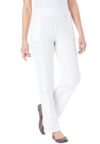 Woman Within Petite Linen Blend
