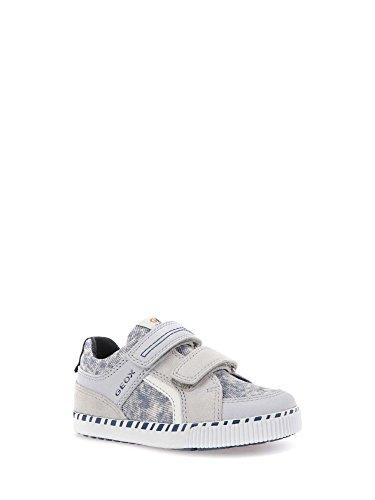 Geox B Kilwi B, Zapatillas Para Bebés Gris