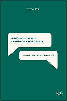 Descargar Torrent En Español Interviewing For Language Proficiency: Interaction And Interpretation El Kindle Lee PDF