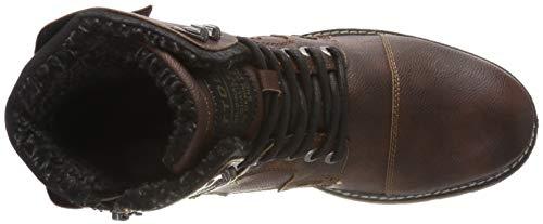 e Tailor stivaletti stivali Tom brandy marroni 01823 classici 5885903 vftqwnwg