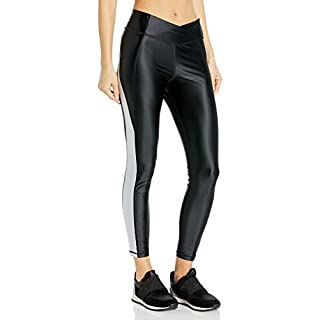 Reebok High Rise Tight Shiny, Black, Small