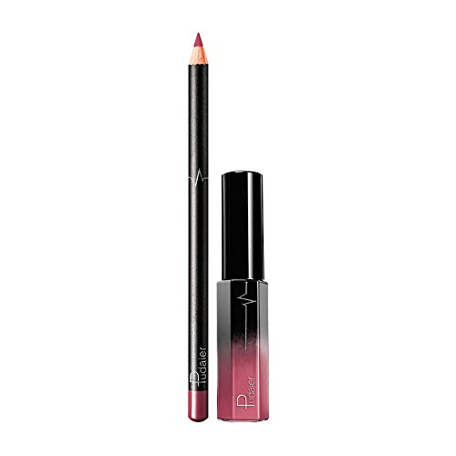 FORUU Women's Lipstick, 2019 Valentine's Day Surprise Best Gift For Girlfriend Lover Wife Party Under 5 Free delivery Long Lasting Waterproof Matte Liquid Gloss Lip Liner Cosmetics Set