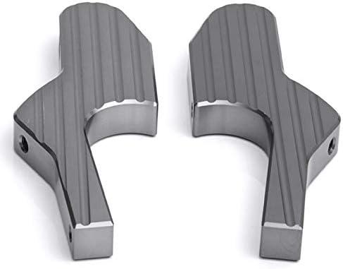 Summerwindy Reposapi/és De Scooter Extensiones De Clavijas De Pie para Pasajero Universal CNC Estriberas Extendidas para Vespa GT GTS Gtv 60 125 200 250 300 300Ie Titanio