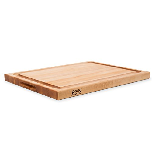 John Boos Maple Wood Edge Grain Reversible Cutting Board with Juice Groove, 24 Inches x 18 Inches x 1.5 Inches by John Boos (Image #6)
