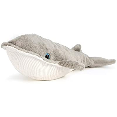 VIAHART Wally The Finback Whale | 9 Inch Baleen Blue Whale Stuffed Animal Plush | by Tiger Tale Toys