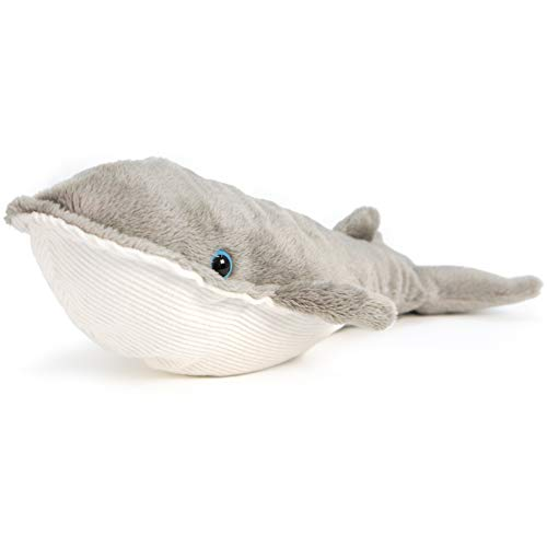 VIAHART Wally The Finback Whale   9 Inch Baleen Blue Whale Stuffed Animal Plush   by Tiger Tale Toys