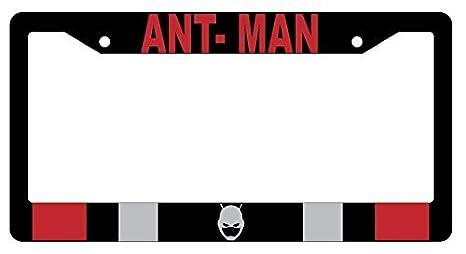 Ant Man Logo Alta Calidad Negro Plástico de la matrícula marco: Amazon.es: Coche y moto