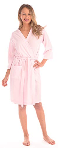 - Patricia Women's Soft Waffle Knit Spa Robe (40