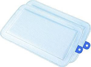 DryFur Pet Carrier Insert Pads size Small 19.5″ x 12.5″ Blue – 2 pack