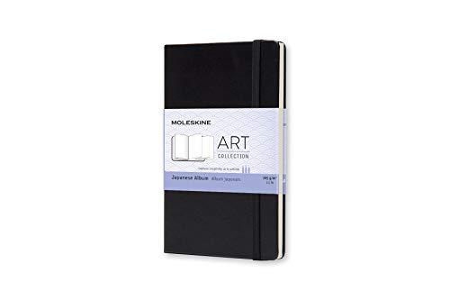 Moleskine Art Plus Hard Cover Japanese Album, Plain, Pocket Size (3.5