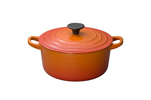 Le Creuset Enameled Cast-Iron 2-Quart Round French Oven, Flame -