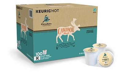 Caribou Coffee Signature Blend (100 K-Cups) by Caribou Coffee