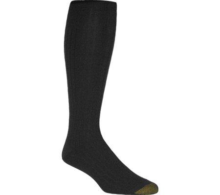 Gold Toe Men's Windsor Wool OTC 1446H,Black,US 10-13 R