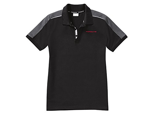 Porsche Herren Polo-Shirt Gr. S, schwarz/grau, Racing Kollektion ...