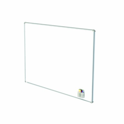 Ghent 48'' x 72'' Nexus Wall-Mounted Porcelain Magnetic Whiteboard (NEX146WMB) by Ghent