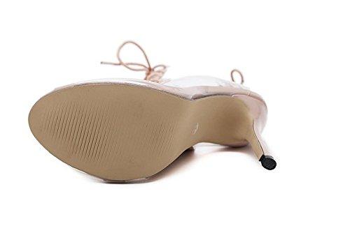 sandales nbsp;Sandales Poisson K Femmes des amp;GQ Transparent Bottes VB Sur Creux AnxPEfqU