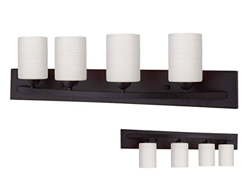Design House 506626 Allante 4 Light Vanity Light, Oil Rubbed Bronze free shipping