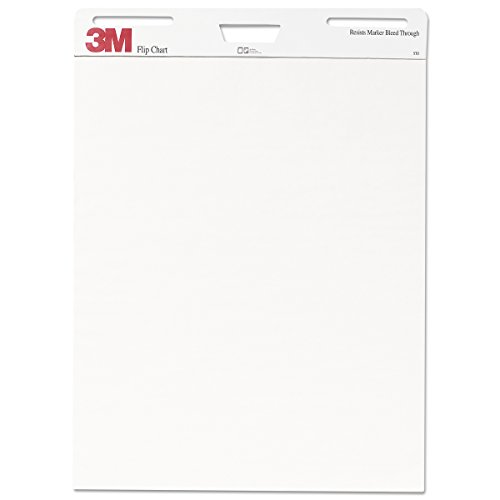 3M Flip Chart, 25 x 30-Inches, White, 40-Sheets/Pad by 3M (Image #2)