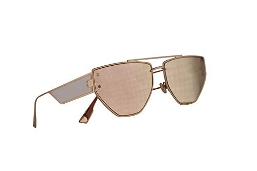 Christian Dior DiorClan2 Sunglasses Rose Gold w/Multilayer Gold Lens 61mm 000SQ Clan 2 ()