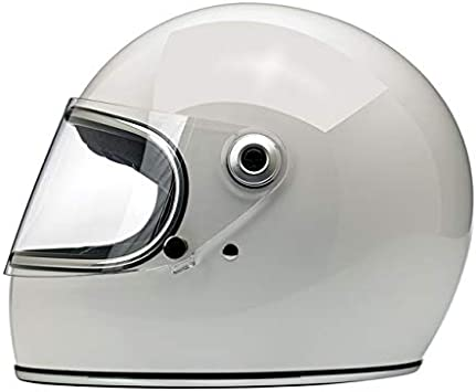 /& DOT America Integralhelm Gringo S Biltwell Gloss White Binco Gl/änzend zugelassen doppelter Zulassung ECE Europa Helmet Biker Custom Vintage Retro Anno 70 XS Bianco