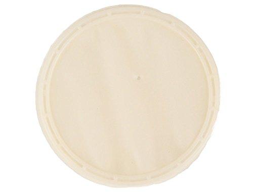 (Zirc 50Z455 Latex Insti-Dam, Single use, Pre-Assembled, 10.79 cm Diameter, Natural (Pack of 20))