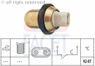 Engine Cooling Fan Switch 7.5038 Compatible With Mg Mgb