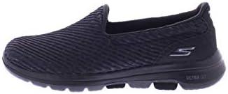 SKECHERS GO WALK 5 MIRACLE Womens Shoes, Black (Black), 7 UK