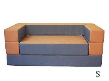 Kindersofa Mit Bettfunktion 4in1 Matratze Spieltisch Puzzle Sofa