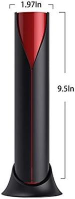 Trescensor automático de tres en uno, carga USB, sacacorchos de tornillo de acero, tecnología SMART SENSOR, corcho automático hacia atrás, cortador independiente y fijado en la tapa para recepciones,